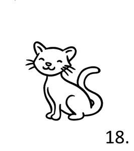 Katze Nr. 18