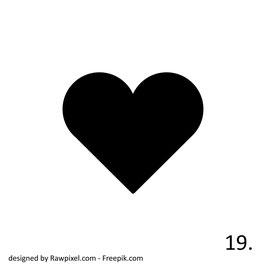 Herz Nr. 19