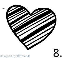 Herz Nr. 8