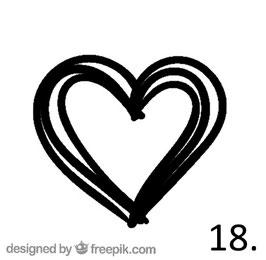 Herz Nr. 18