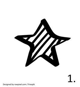 Stern Nr. 1