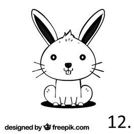 Hase Nr. 12