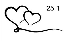 Herz Nr. 25.1 (25.1)