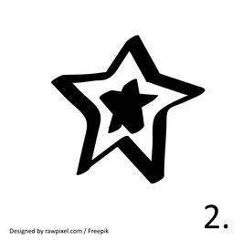 Stern Nr. 2