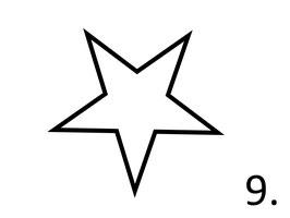 Stern Nr. 9