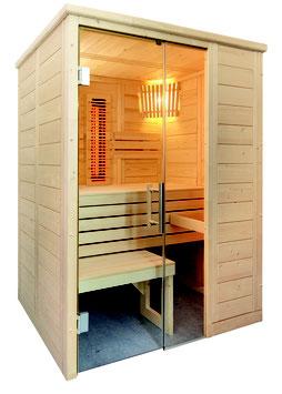 Sauna Alaska Mini Infra+