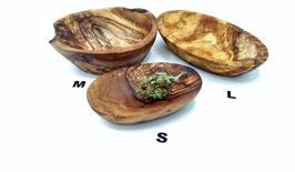 Kräuter/Mischungsschälchen aus Olivenholz