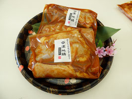 会津地鶏もも肉 味噌漬け800g【クール便】
