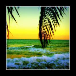 """Gerahmtes Bild """"Karibikflair an der ligurischen Riviera"""""""