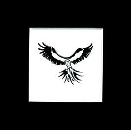 """Tuschezeichnung """"Adler 1"""""""