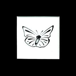 """Tuschezeichnung """"Schmetterling"""""""