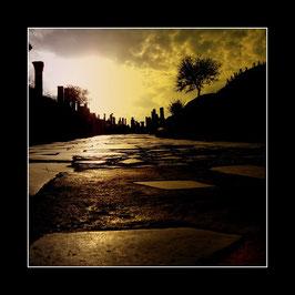 """Gerahmtes Bild """"Auf alten Pfaden durch Ephesos"""""""
