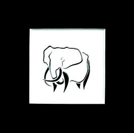 """Tuschezeichnung """"Elefant 3"""""""