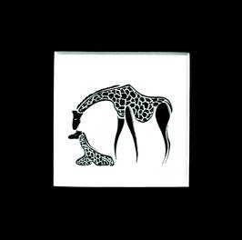 """Tuschezeichnung """"Giraffe 1"""""""
