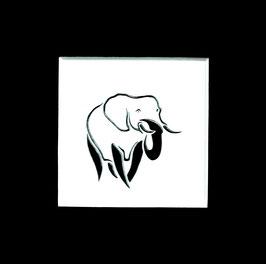 """Tuschezeichnung """"Elefant 1"""""""