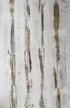 Einzelstück *doppelseitig: Shabby Weiss / Graubraun*