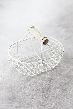 Dekokörbchen aus Metall