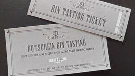 Gin Tasting Ticket 10.10.2020 zum Thema Gin und Gin Cocktails