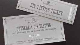 Gin Tasting Ticket 02.11.2019 zum Thema England