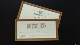Rosebottel Gutschein