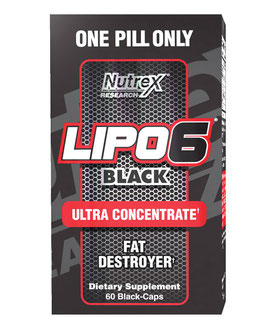 Nutrex Lipo-6 Black ultra concentrate- 60 Kapseln