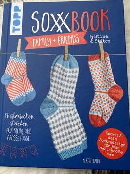 SoxxBook family + friends by Stine & Stitch von Kerstin Balke (2018, Gebundene Ausgabe)