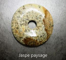 Donut en jaspe paysage