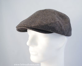 "Flatcap ""Ben"" (braun-grau)"