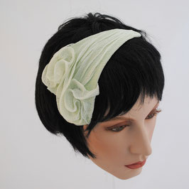 Fascinator Zwilling-Rose