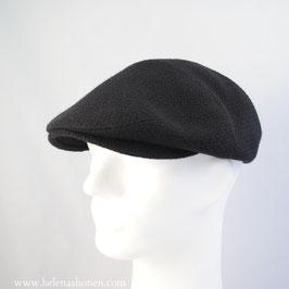 """Flatcap """"Ben"""" (schwarz panamagewebt)"""