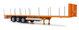 Pacton flatbed trailer yellow