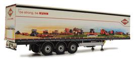 Pacton curtainsider trailer Kuhn design