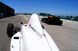 Formel selber fahren 10 Runden Rennstrecke Mallorca