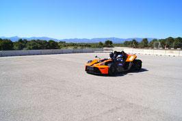 KTM X-BOW Rennwagen selber fahren 10 Runden Mallorca Rennstrecke
