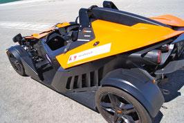 KTM X-BOW Renntaxi 3 Runden Co Pilot Mallorca Rennstrecke