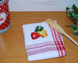 Torchon de cuisine poivrons