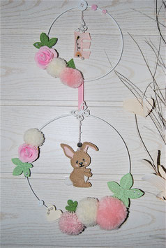 Couronne chambre bébé lapin