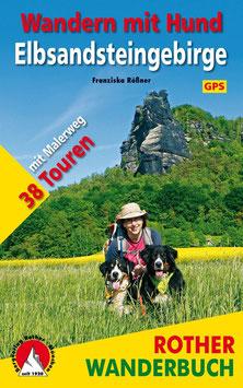 """Wanderbuch """"Wandern mit Hund - Elbsandsteingebirge mit Malerweg"""""""