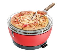 Feuerdesign Pizzastein mit Edelstahl-Schaufel