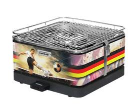 Feuerdesign Teide Holzkohle-Tischgrill Deutschland Edition - Limitierte Auflage