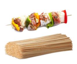 Grill- und Schaschlikspieße - Set aus Bambus