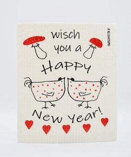 """Owoschfetzn """"Henne Berta - Wisch you a Happy New Year!"""""""