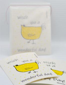 Owoschfetzn Doppelpackung gelb