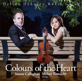 Colours of the Heart: Midori Komachi (Violin), Simon Callaghan (Piano)