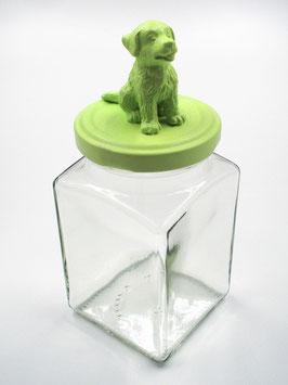 Tierliglas «Bärri» Hellgrün