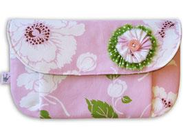 Kosmetiktäschchen «Blumen Lila» Mittel