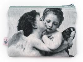 Minitäschchen «Engeli» gestreift