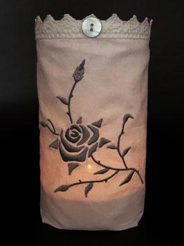 Windlicht «Rose»