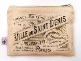 Minitäschchen «Ville de St. Denis»