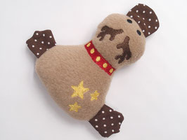 Mini Ente «Rudolphli» Beige